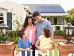 Standout Solar Panels in Dim Light