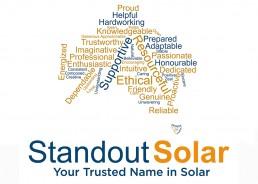 Standout Solar Solar Standout Words
